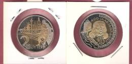 NEDERLAND 400 JAAR VLISSINGEN 2 RUYTER EURO 2007 BIMETAAL - Pays-Bas