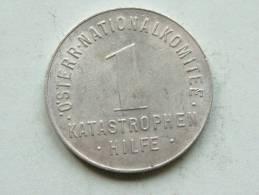 Öster - Nationalkomitee / 1 Katastrophen Hilfe ( Austria - Uncleaned - For Grade, Please See Photo ) ! - Monétaires / De Nécessité