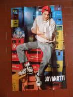 *MANIFESTO POSTER DI CIOE' - CLAYTON NORCROSS E JOVANOTTI CON COCA COLA  - - Unclassified