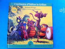 CD  L'ORCHESTRE D'ODILON LE GRILLON - Instrumental