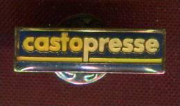 Pin's CASTORAMA Castopresse - Marques