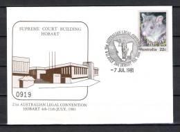 AUSTRALIE , 07/06/1981 LEGAL CONVENTION - HOBART (GA1318) - Stamps