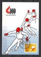 HELVETIA, 08/02/1987, Championnats Du Monde De Ski Alpin  - MONTANA-VERNALA  (GA1426) - Winter 1984: Sarajevo