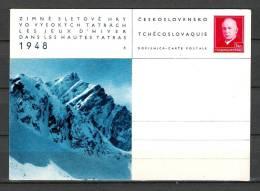 CESKOSLOVENSKO , 1986 Dans Les Hautes Tatras  (GA1450) - Winter 1948: St. Moritz