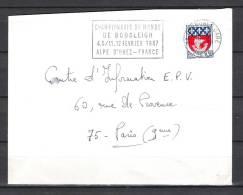FRANKRIJK , 18/02/1967  Championnats Du Monde De Bobsleigh   (GA1456) - Winter 1964: Innsbruck