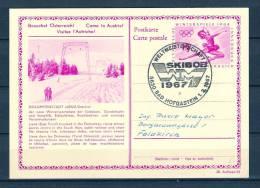 REPUBLIC ÖSTERREICH , 01/02/1967 Weltmeisterschaft - BAD HOFGASTEIN  (GA1457) - Winter 1964: Innsbruck