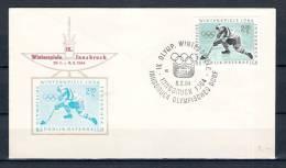 REPUBLIK ÖSTERREICH, 08/02/1964 Olympische Winterspiele - INNSBRUCK  (GA1543) - Winter 1964: Innsbruck
