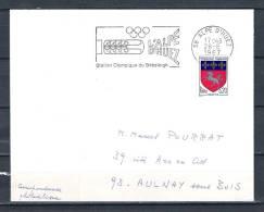 FRANKRIJK, 28/08/1967 Station Olympique Du Bobsleigh - ALPE D'HUEZ  (GA1594) - Winter 1964: Innsbruck