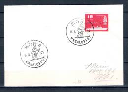 SVERIGE, 05/03/1961 Vasaloppet  - MORA (GA1608) - Hiver 1960: Squaw Valley