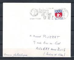 FRANKRIJK, 08/11/1965  ALPE D'HUEZ  -  ISERE (GA1667) - Winter 1964: Innsbruck