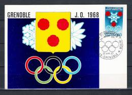 FRANKRIJK, 22/04/1967 Olympiques D'hiver - GRENOBLE  (GA1671) - Winter 1964: Innsbruck
