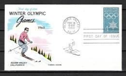 USA, 09/02/1960 Winter Olympic Games -  CALIFORNIA (GA1676) - Winter 1960: Squaw Valley