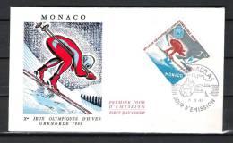 MONACO, 07/12/1967 Jour D'Emission - GRENOBLE (GA1684) - Winter 1964: Innsbruck