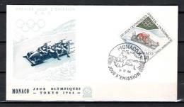 MONACO, 03/12/1967 Jour D'Emission - TOKYO (GA1685) - Winter 1964: Innsbruck