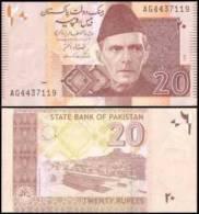 Pakistan #new 20-2006, 20 Rupees, 2006, UNC - Pakistan
