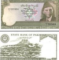 Pakistan #39-1, 10 Rupees, ND (1983-84), AU - Pakistan