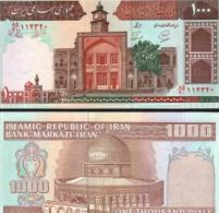 Iran #138h, 1.000 Rials, ND (1982-), UNC / NEUF - Iran