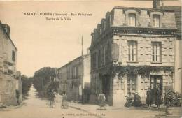 33 SAINT LOUBES RUE PRINCIPALE SORTIE DE LA VILLE - France