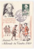Carte Fédérale - Journée Du Timbre MARSEILLE 1949 - Choiseul - Stamp's Day