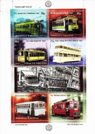 Argentine 1971 / 76 ( Feuille Complète ) Histoire Du Tramway - Argentine