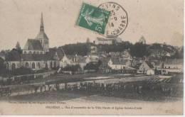 PROVINS ( Vue D' Ensemble De La Ville Haute ) - Provins