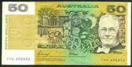 AUSTRALIA , 50 DOLLARS 1983 , P-47f - 1974-94 Australia Reserve Bank (paper Notes)