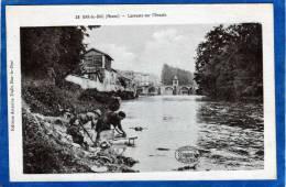 55 BAR LE DUC GROS PLAN DE LAVANDIERES SUR L´ ORNAIN - Bar Le Duc