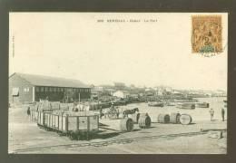 Afrique Occidentale Francaise (Collection Fortier , Dakar) Sénégal - Dakar :   Le Port - Senegal