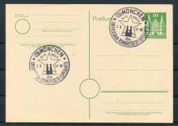 1951 Germany Munich Esperanto Congress Card - Esperanto
