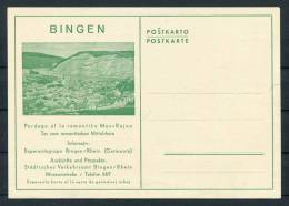 Germany Bingen Esperanto Postcard - Esperanto
