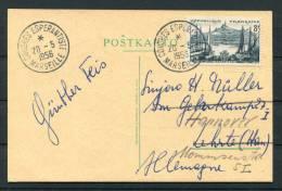 1956 Marseille France Esperanto Congress Postcard - Esperanto