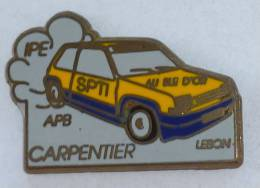 Pin's VOITURE RALLYE, IPE APB SPTI..  CARPENTIER - Rallye