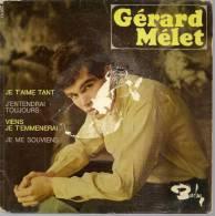 "45 Tours EP - GERARD MELET - BARCLAY 70634 -  "" JE T'AIME TANT "" + 3 - Vinyl Records"