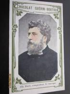 Bizet, Compositeurs De Musique—>Chocolat Guérin Boutron—> Livre D'or Célébrité Contemporaine,collectio - Guérin-Boutron