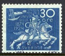 SWEDEN 1924  Universal Postal Union 30 öre  Used.  Michel 164 - Sweden