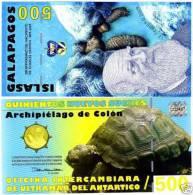 Galapagos Islands, 500 SUCRES, 2009, POLYMER, UNC - Banknoten