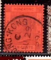 Hong Kong 1882 10c  Queen Victoria Issue #44 - Hong Kong (...-1997)