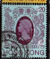 Hong Kong 1982 $20 Queen Elizabeth II Issue #402  Filler - Hong Kong (...-1997)