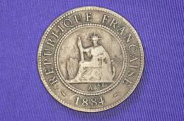 France - Cochinchine - 1 Cent- A Paris - 1884 - Colonies