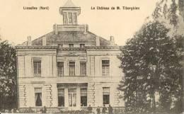 Linselles Nord Le Chateau De M Tiberghein - Frankrijk