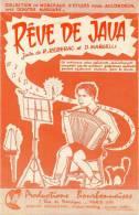 Partition - Rêve De Java - Java De R. Reberac Et D. Margelli - 1959 - Partitions Musicales Anciennes