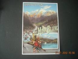 CLOUET   10311  LE MONT BLANC  CHEMIN DE FER P.L.M HUGO D ALESI                      Retirage - Werbepostkarten