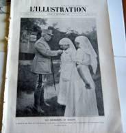 L´ILLUSTRATION-8 Sept 1917-Infirmières De Verdun Décorées-L'enfer Du Carso- Riga-Incendie De Salonique-La Chine Rupture - Journaux - Quotidiens