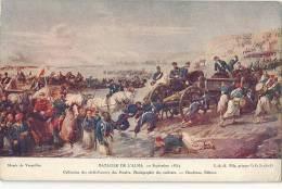 HISTOIRE MILITARIA ART.LOT DE 4 CARTES LA GORGE DE MALAKOFF SIEGE D YORKTOWN BATAILLE D ALMA ENTREE D HENRI IV A PARIS - Historia