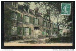 45 - PUISEAUX - HOTEL DE VILLE - CARTE TOILEE - Puiseaux