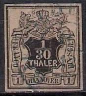 GERMANY HANNOVER 1851 Nº 3 - Hannover