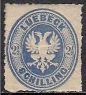 GERMANY LUBECK 1863 Nº 11 - Luebeck