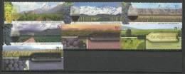 ARGENTINE.  Les Vignobles Argentins. Yv. 2528/31 & 2631/33.  2 Series Neuves ** - Wines & Alcohols