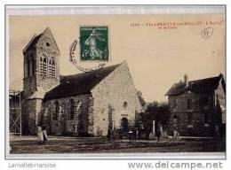 77 - VILLENEUVE SUR BELLOT - L´EGLISE ET LA CURE - France
