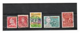 1 Timbre D'ARGENTINE Et 4 Du DANEMARK  5  50  100 Et 2,80   Année 1985 Pour 2 Timbres   (oblitérés) - Non Classés